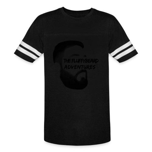 FluffyBeard Adventures Women's Vintage Baseball Tee  - Vintage Sport T-Shirt