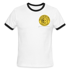 CH Circle Crest - Men's Ringer T-Shirt