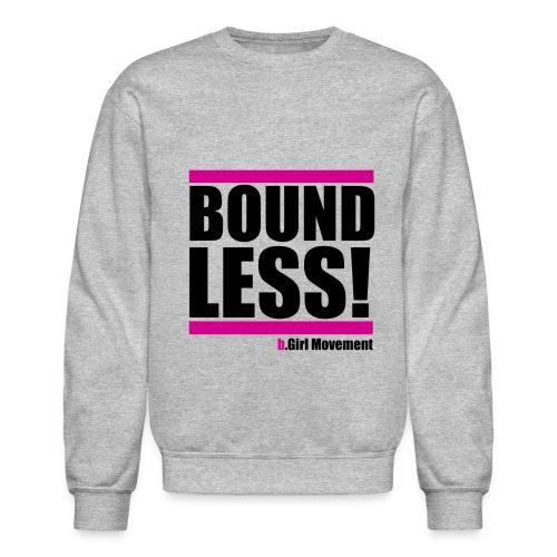 Boundless Sweatshirt (Heather Grey) - Crewneck Sweatshirt