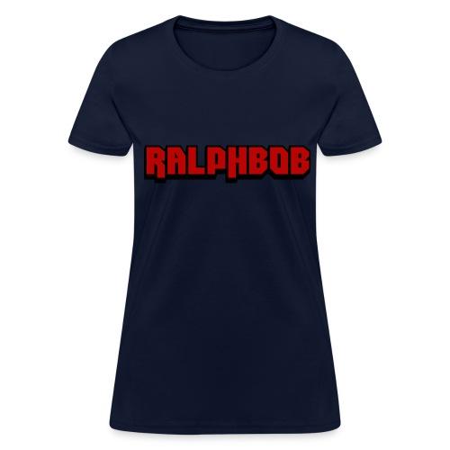 Ralphbob Logo - Women's T-Shirt Blue - Women's T-Shirt