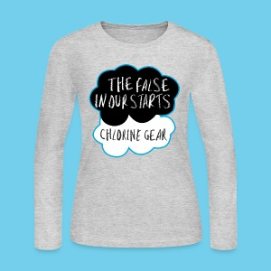 The False in Our Starts Women's LS - Women's Long Sleeve Jersey T-Shirt
