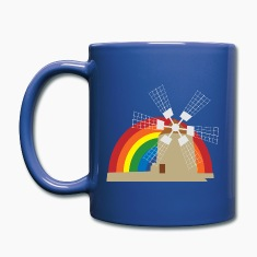 Windmill Mugs & Drinkware