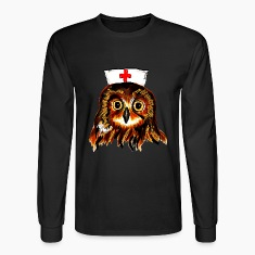 night nurse Long Sleeve Shirts
