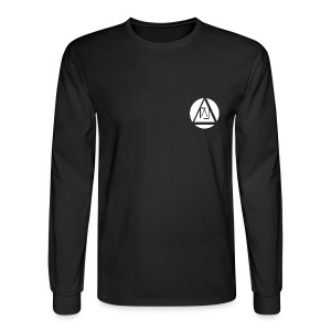 Lucid Apparel Signature Tee -  Black - Men's Long Sleeve T-Shirt
