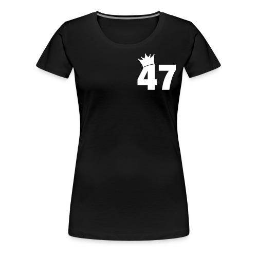 47 Female T Shirt - Women's Premium T-Shirt