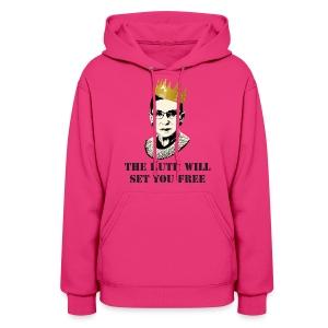 Women's Notorious RBG Sweatshirt - Women's Hoodie