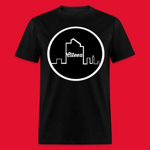 Citeez White Logo Tee - Men's T-Shirt