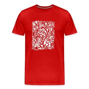 Flow in Red - Men's Premium T-Shirt