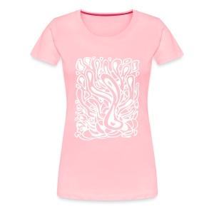 Flow in Pink - Women's Premium T-Shirt