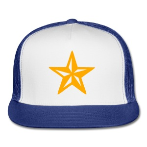 Yellow Star Hat - Trucker Cap