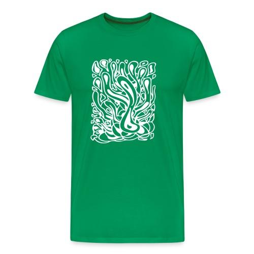 Flow in Green - Men's Premium T-Shirt
