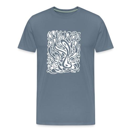 Flow in Blue - Men's Premium T-Shirt