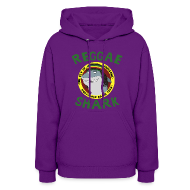 Hoodies ~ Women's Hoodie ~ Reggae Shark - Ladies (more colors available)