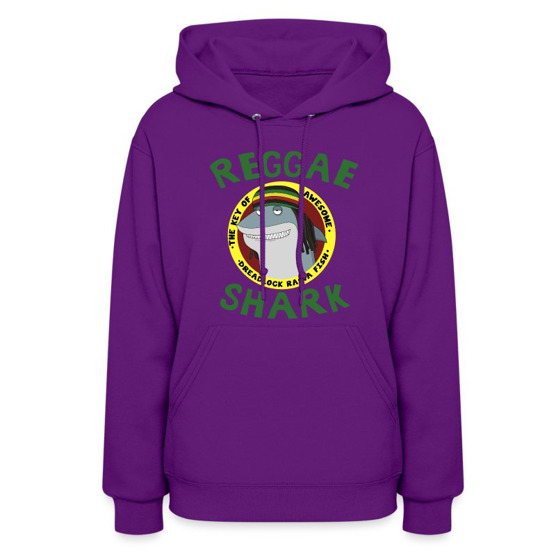 Reggae Shark - Ladies (more colors available)  - Women's Hoodie