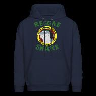 Hoodies ~ Men's Hoodie ~ Reggae Shark - Men's (more colors available)