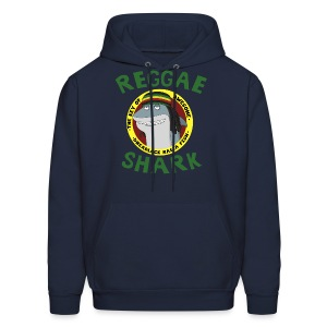 Reggae Shark - Men's (more colors available)  - Men's Hoodie