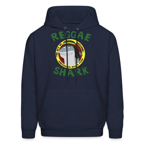 Reggae Shark - Men's (more colors available)  - Men's Hoodie