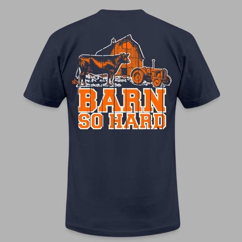 Men's Barn So Hard/Saturdays at the Barn - Men's  Jersey T-Shirt