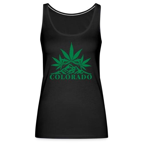 Growing Colorado Women's Tank Top - Women's Premium Tank Top