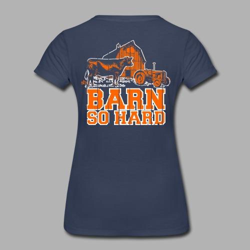 Women's  Barn So Hard/Saturdays at the Barn - Women's Premium T-Shirt