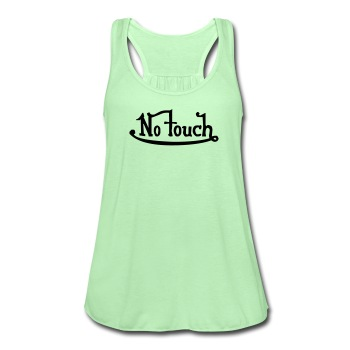No touch girly - Women's Flowy Tank Top by Bella