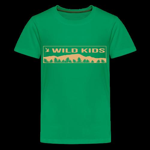 Kids Wild Kids Shirt  - Kids' Premium T-Shirt