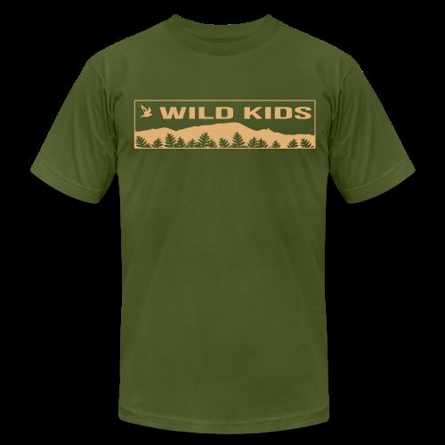 Wild Kids Shirt - Men's Fine Jersey T-Shirt