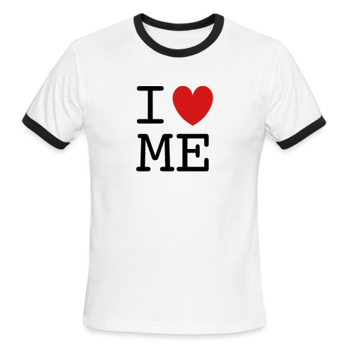 Love Me - Men's Ringer T-Shirt