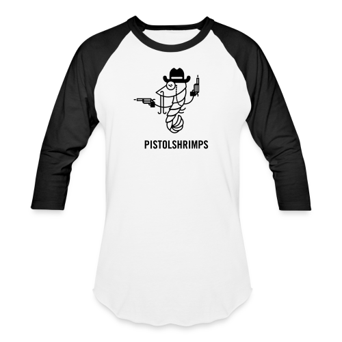Gunslinger Shrimp Baseball Shirt - Baseball T-Shirt