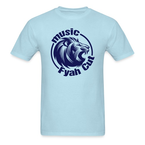 Fyah Cut Music Basic T-shirt - Men's T-Shirt