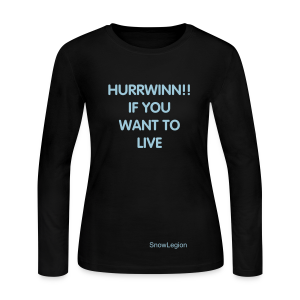 Long Sleeve Women's HURRWINN Shirt - Women's Long Sleeve Jersey T-Shirt