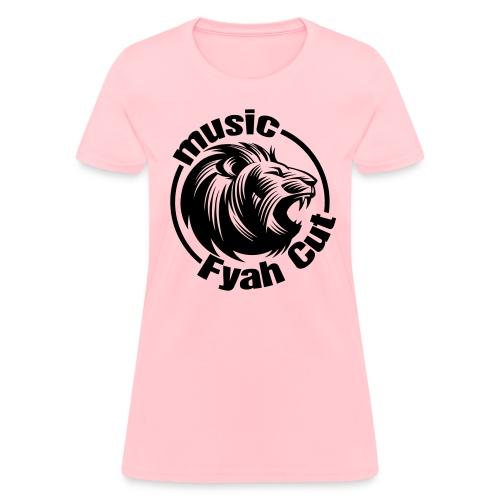 Fyah Cut Music Basic T-shirt - Women's T-Shirt