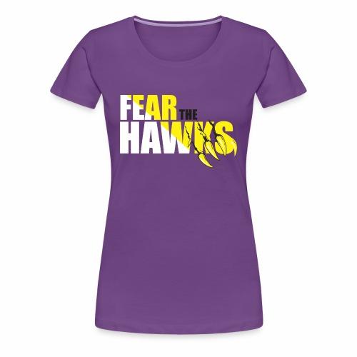Ladies Hawks Tshirt - Women's Premium T-Shirt