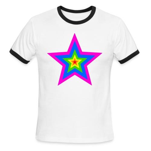 Superstar-Men's Ringer T-Shirt - Men's Ringer T-Shirt