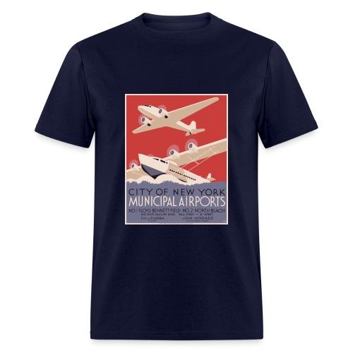 New York Airport - Men's T-Shirt