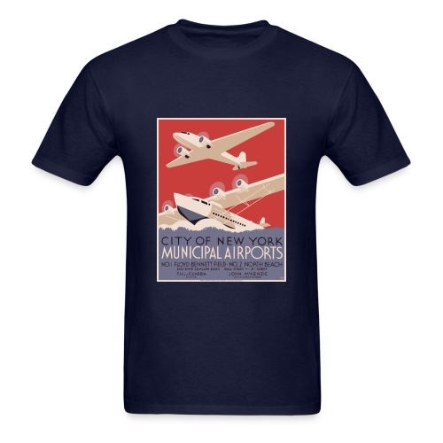New York Airport - Men's T-Shirt