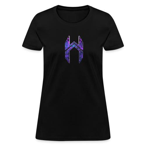 Womens T-Shirt Dark Matter Logo  - Women's T-Shirt