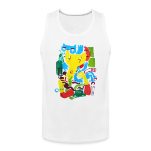 Language of Love: Battle (Men's Tank) - Men's Premium Tank