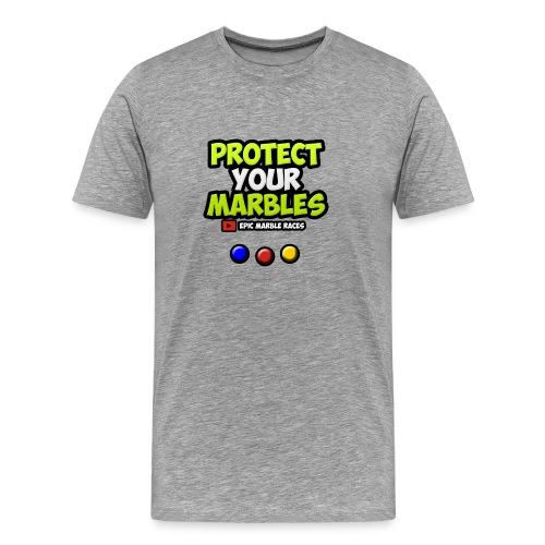 Protect Your Marbles - Men's Premium T-Shirt