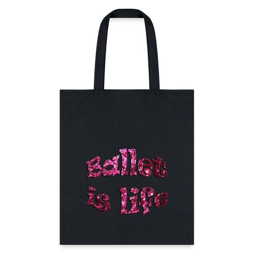 Glitter Ballet Tote - Tote Bag