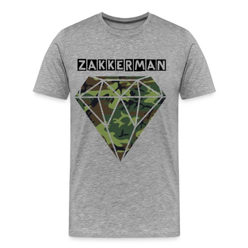 Zakkerman Diamond - Men's Premium T-Shirt