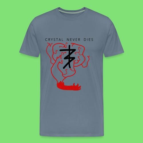 Crystal Never Dies - Men's Premium T-Shirt
