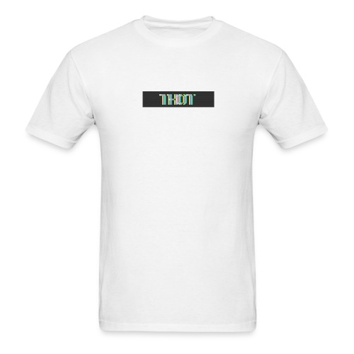 VCR THOT BOX LOGO - Men's T-Shirt