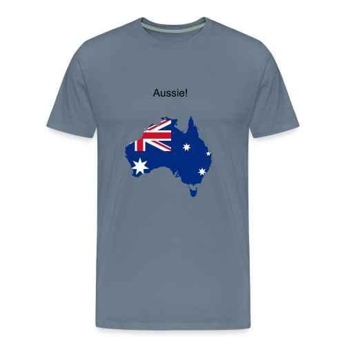 Aussie - Men's Premium T-Shirt