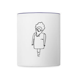 Jah Jumpy Contrast Coffee Mug - Contrast Coffee Mug