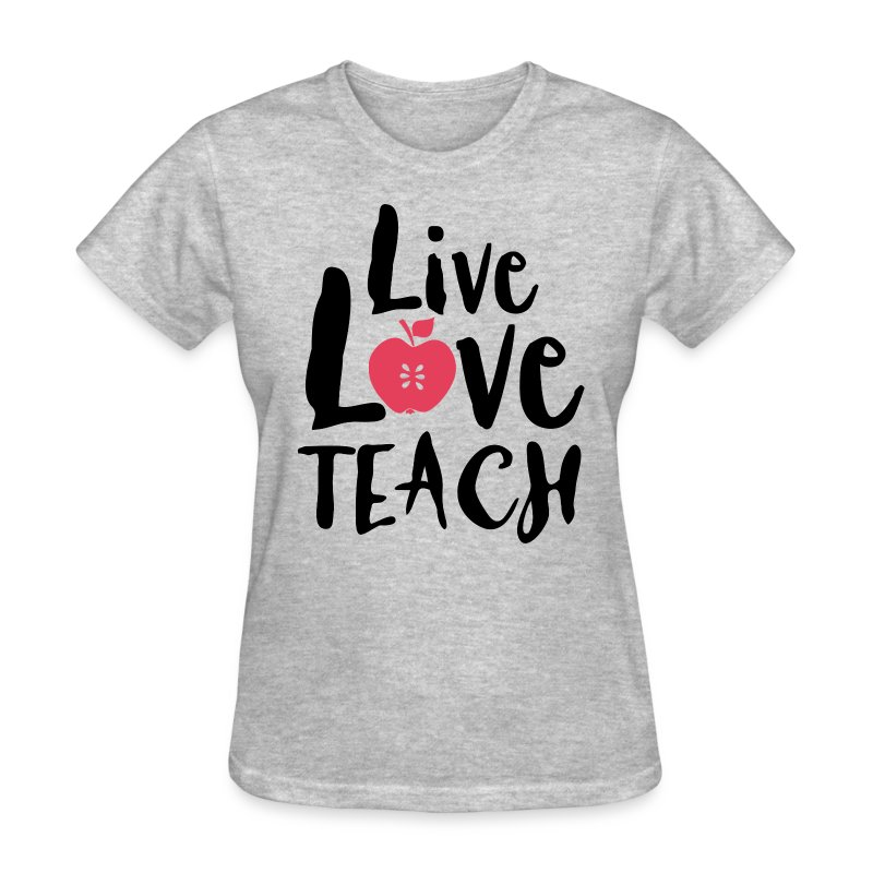 Live Love Teach T-Shirts - CafePress