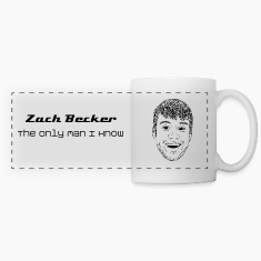 Zach Becker: The Only Man I Know Mugs & Drinkware
