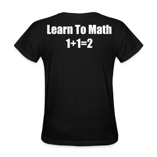 Learn To Math - Women's T-Shirt