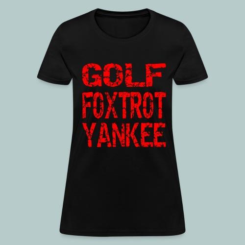 GFY - Women's T-Shirt