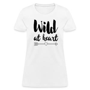Wild at Heart - Women's T-Shirt